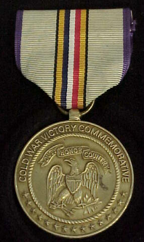 Cold War Service Medal — Медаль «За победу в холодной войне»